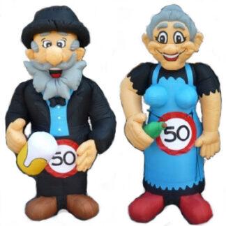 Abraham en Sarah alle poppen